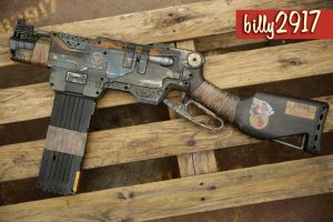 nerf slingfire zombie custom by billy2917