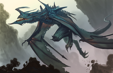 Legendary-Air-Dragon by Davesrightmind