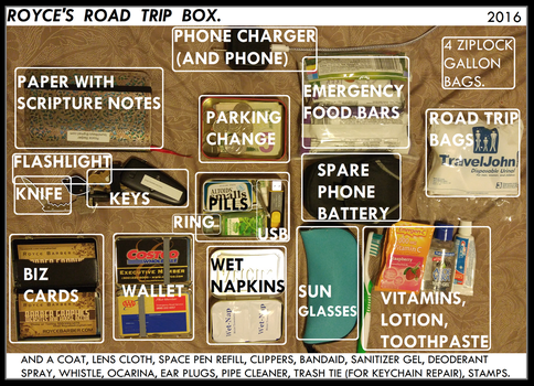 2016 Royces Road Trip Box by Royce-Barber