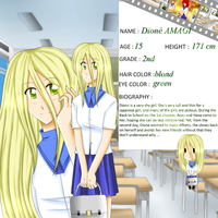 Dione AMAGI (character profile) by YukirinSims