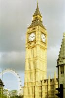 The Eye of Big Ben by danzka