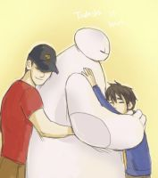 Tadashi Is Here by LadyDeadPooly