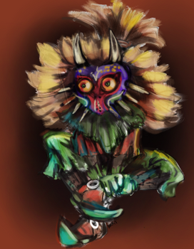 The Skullkid- Sketch by hyperpiston