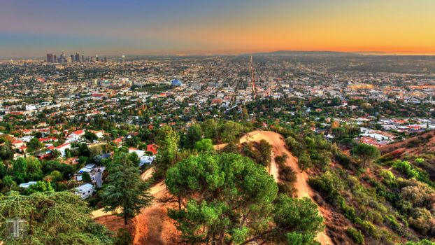 LA Basin HDR by ThatFunk