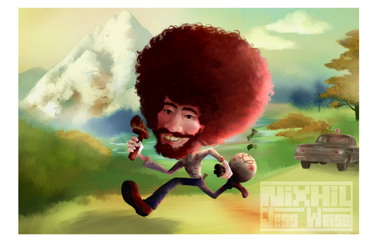 Bob Ross! by Nixhil