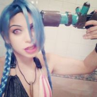 Jinx League Of Legends : ZAP by AxelTakahashiVIII