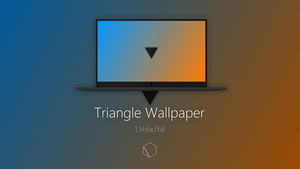 Triangle Wallpaper by TheButterCat