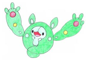 reuniclus by FrozenFeather
