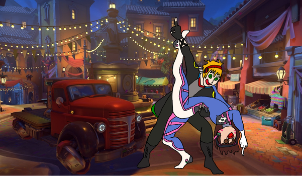 OW - Escorting the Payload with Style and Attitude by DragonKid36