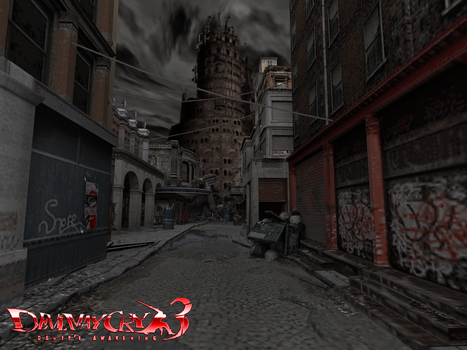 Devil May Cry 3 (The Devils' tower) by Maxdemon6