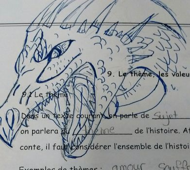 When im bored in class... by ThePhoenixGirl31