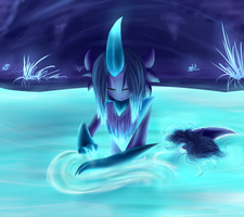 Calming Ponds by Nightshade-warroir