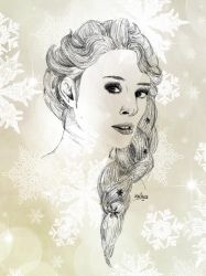 Elsa - Frozen / La Reine des Neiges by Kailyce