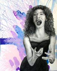 AP Studio Art 2014: Concentration 10 (Vocalist) by Skanday