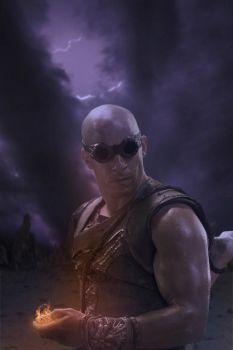 Riddick Contest Entry by CelticStrm by CelticStrm