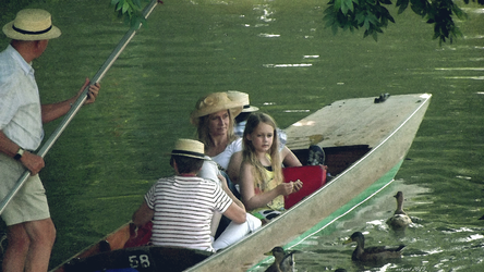 Punting on the Cherwell, Oxford. by Antonymous2011