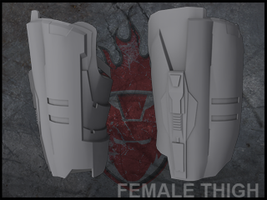 Halo reach scout by forgedreclaimer on deviantart halo reach female thigh model by forgedreclaimer malvernweather Image collections
