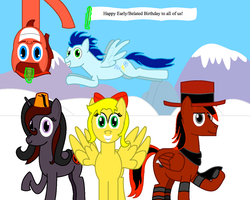 Bronies and Pegasisters Birthday Month of January by Tyler3967