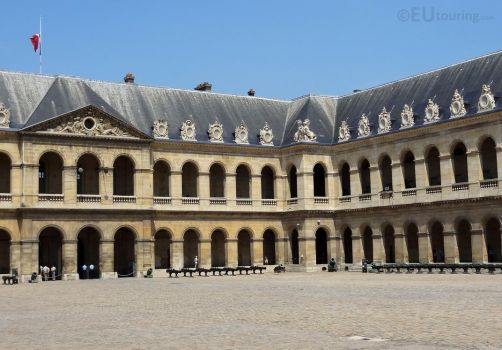 Courtyard of Les Invalides by EUtouring