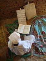 Sudan Muslim Reading Quran by ademmm