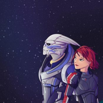 Mass Effect by Fireflywaterfly