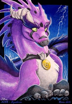 ACEO - Kyuubreon by olvice