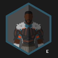M'Baku Character Icon by thelivingethan