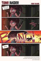 Tomb Raider   First Blood by Lushies-Art