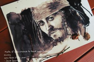 Jack Sparrow by The-girl-in-Mirkwood