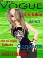 Punk Vogue Magazine cover by Lisa99