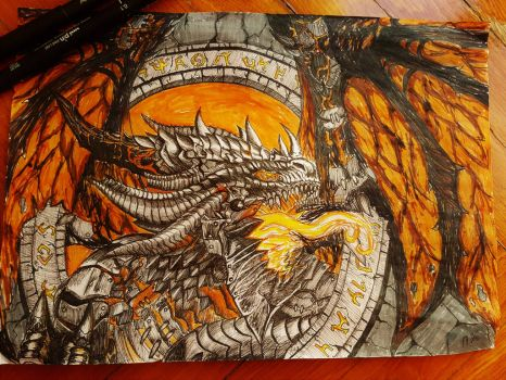 Cataclysm from wow by Annas-2Art2
