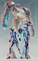 Metroid + Pacific Rim (FSRX 12) by ZedEdge