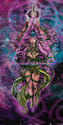 VISION OF THE GODDESS by cyphlon