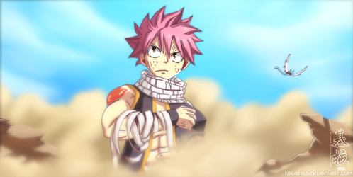 Fairy Tail - Natsu Ace Up The Sleeve by Kira015