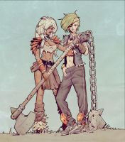 W20150125 - Wasteland Girls Colors by StMan