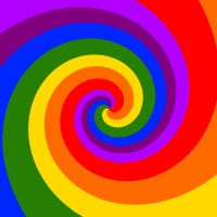 Rainbow Spiral by TheDrifterWithin