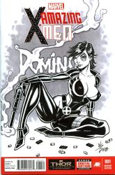 Scanned Domino Cover by broken-nib
