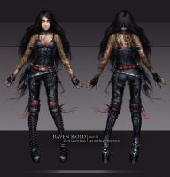 Kira Crow - skin02 by oione