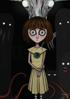 They came from the darkness (Fran Bow fan art) by 4DarKop5