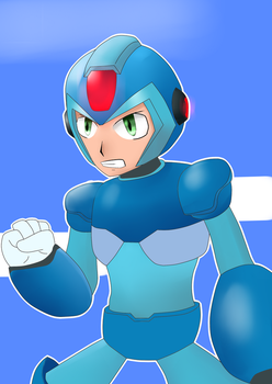 Megaman X by Warlord9787