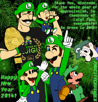 Better Last Days Than Late (The Year of Luigi) by 2ndCityCrusader