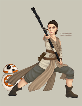 [CM] Star Wars - Rey by KaigaraProjects