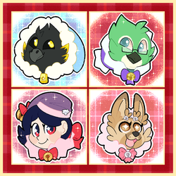 Christmas Icon Commissions   Batch 1 by Pupom