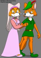 Maid Marian and Robin Hood by CaseyDecker