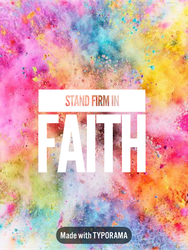 Stand Firm by ChristLover526