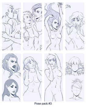 Pose pack sale by sionra