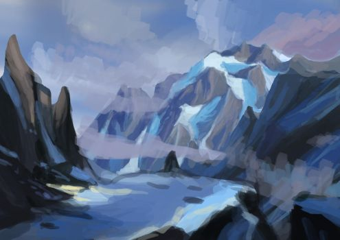Mountains by zahraa-alz