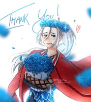 {yuri on ice} thank you! - viktor nikiforov by Paluumin