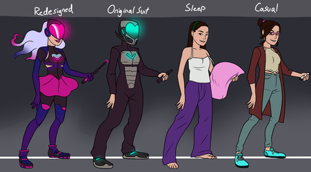 Charity outfits by prides-bae