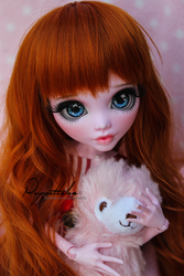 Draculaura 45cm Monster High Customization by puppettales